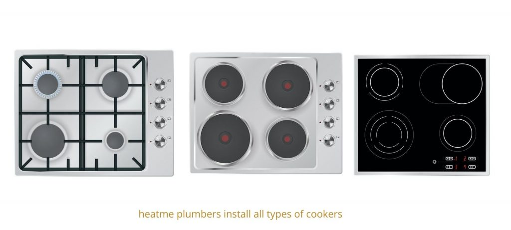 Gas, electric and induction cooker installers